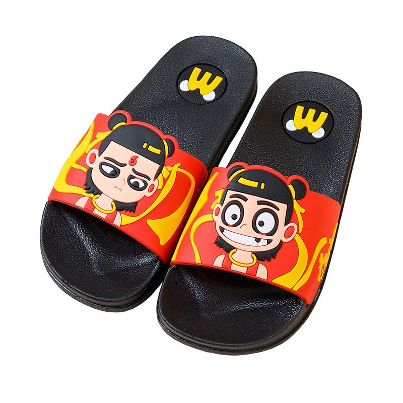 儿童拖鞋夏男童女童宝宝室内洗澡防滑软底可爱小孩亲子家居凉拖鞋