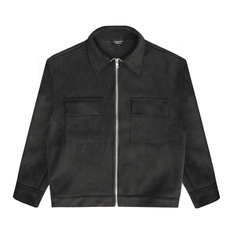 btw春秋高街大口袋纯色宽松夹克好用吗