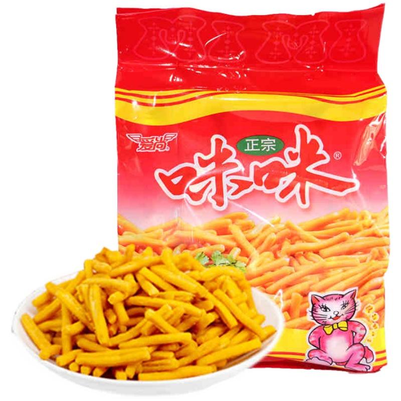 【天猫超市】爱尚咪咪虾条180g 薯片薯条休闲膨化零食怀旧小吃