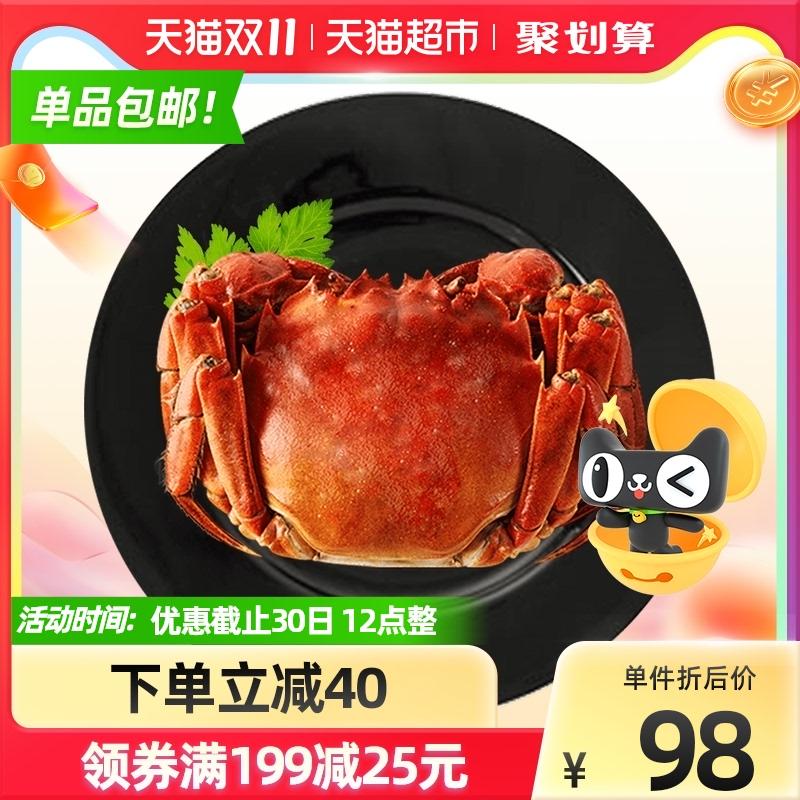 仲秋大闸蟹礼盒公3两8只【活蟹】