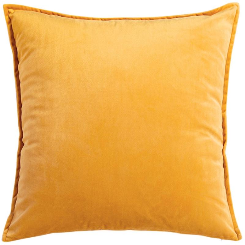 北欧沙发客厅大天鹅绒简约纯色抱枕质量怎么样