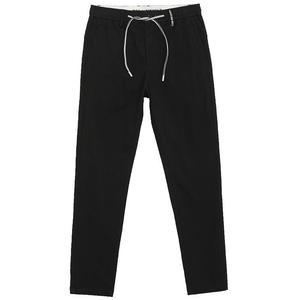 三福2021夏季新款合身小脚休闲裤