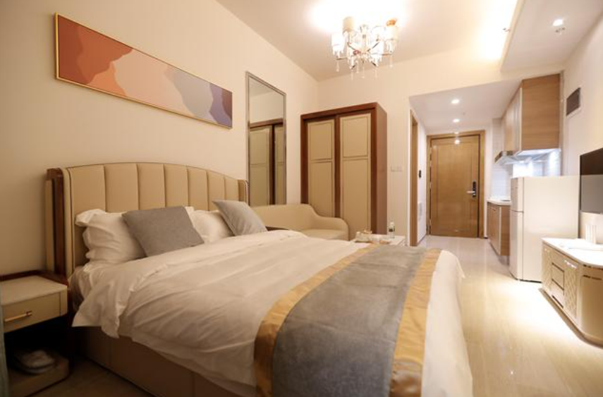 Danzhou Manyu Xiaozhu boutique B & B (haihuadao No.3 Island store) two rooms for parents and children with sea view family