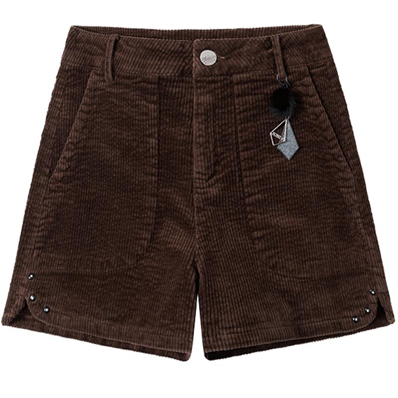 灯芯绒短裤2020新款宽松潮外穿裤子评价好不好?