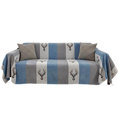 夏季沙发垫全包万能盖巾四季通用防尘全盖布老款式沙发套罩防猫爪