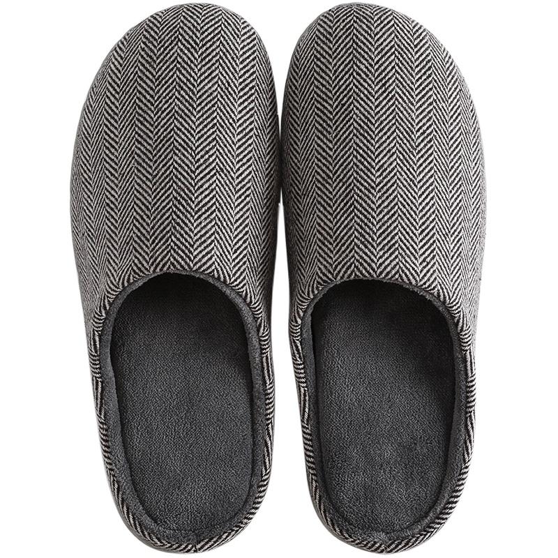 家用秋冬男冬季男士家居防水棉拖鞋性价比高吗