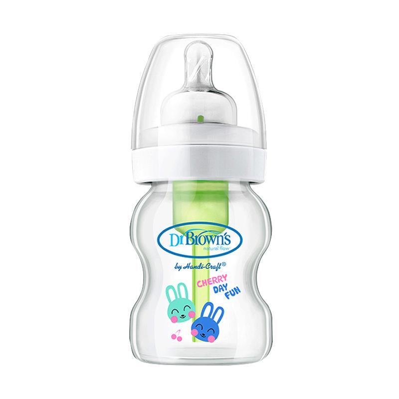 进口品牌布朗博士防胀气5安士奶瓶怎么样