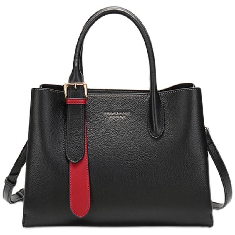 【稻草人】时尚大容量高级质感手提包