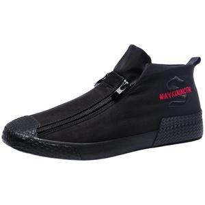 2021新款帆布透气薄款男士休闲男鞋