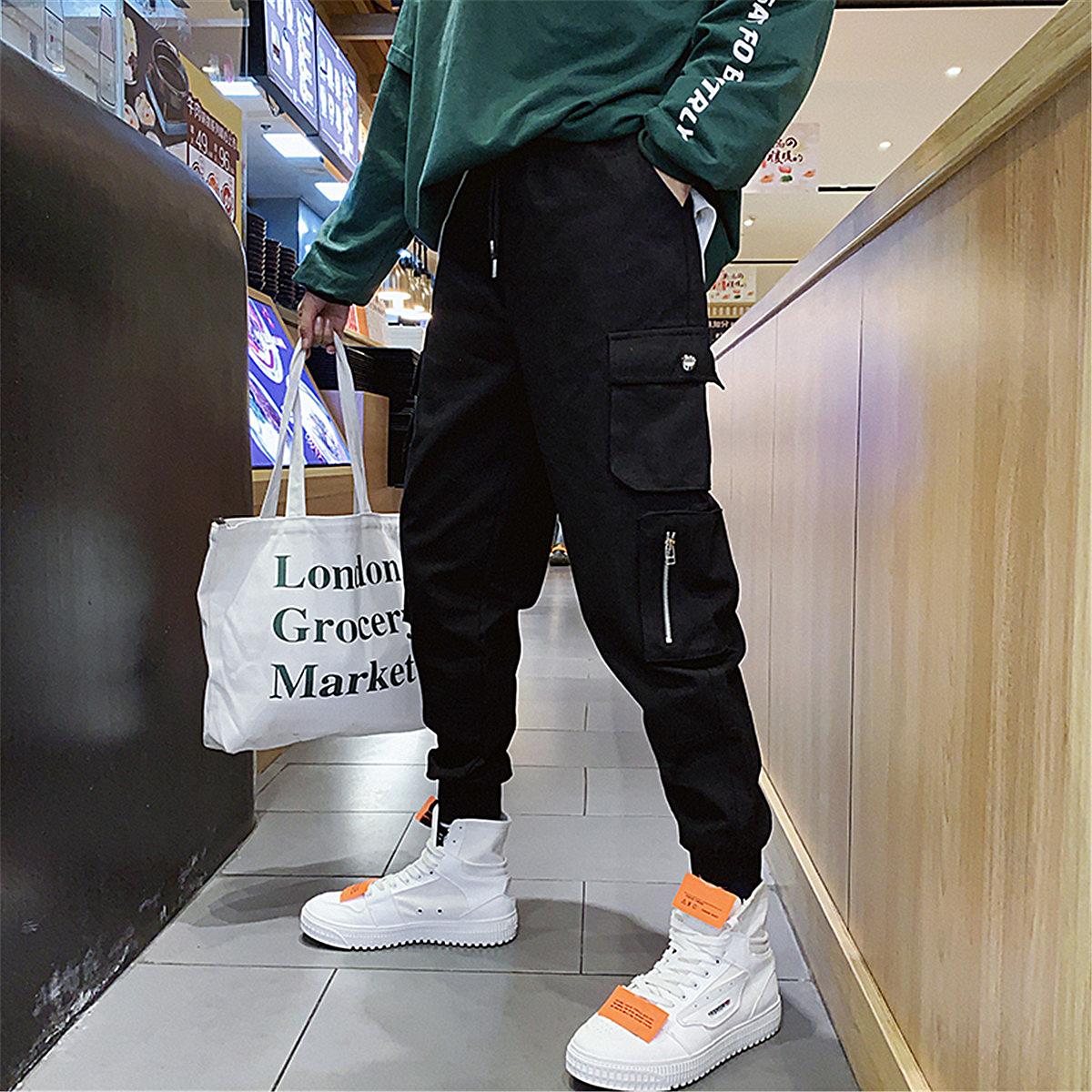 青少年13岁男孩工装韩版12休闲裤子满78.00元可用39元优惠券