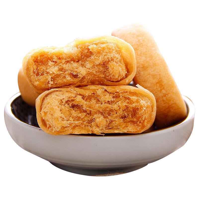 肉松饼糕点心早餐休闲零食品网红面包500