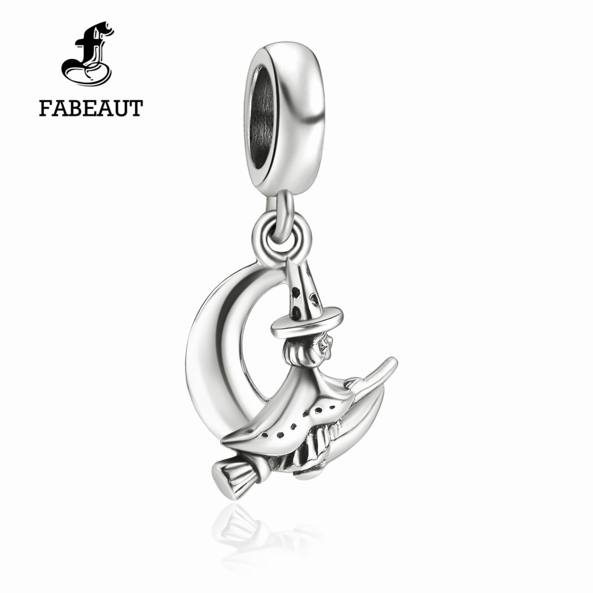 Fabeaaut fanbertis house in a hurry 925 sterling silver beads and pure silver bracelet as a gift for friends and sisters