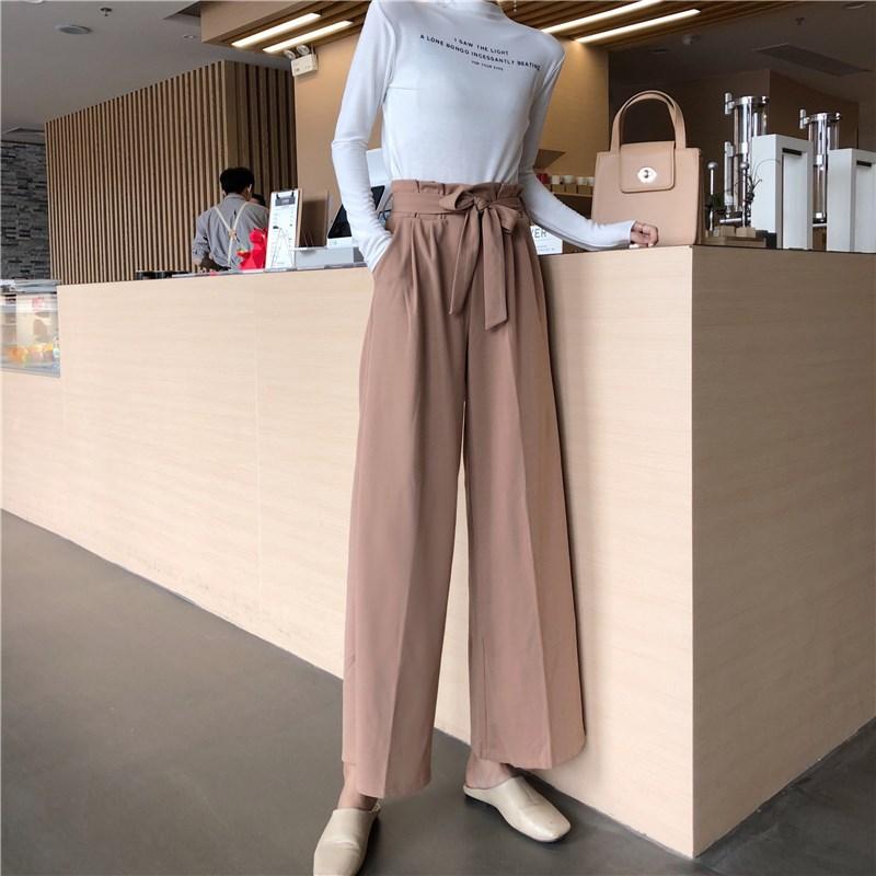 淘宝直播间主播女装阔腿裤可可里小姐店铺女学生裤子是你的妹子啊