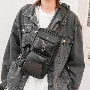 新款胸包男士单肩包斜挎背包后背包韩版休闲潮牌腰包男包挎包潮包