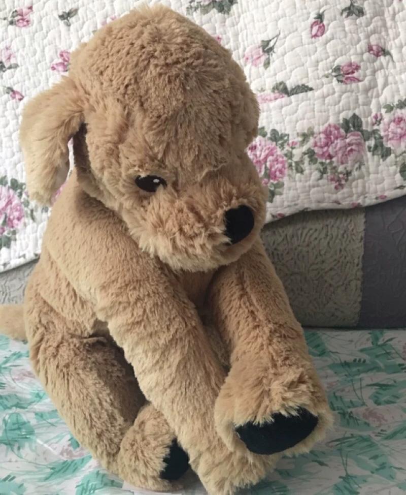 IKEA宜家古西格 格登毛绒玩具狗毛绒玩具狗儿童玩具Kimi玩具狗