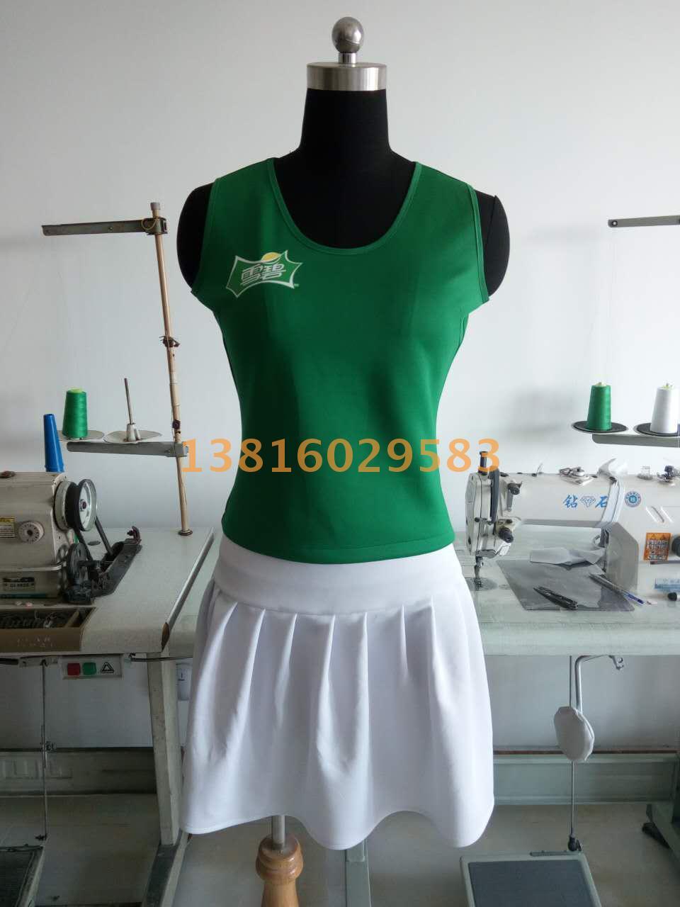 Advanced custom wine promotion clothes work clothes salesman uniform promotion clothes work clothes bath shop clothing order