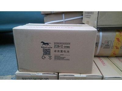 zikoocoop卓肯蓄电池ZC38-12 铅酸免维护蓄电池 质量优 价格低