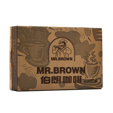 Taiwan original imported brown coffee beverage can 240ml * 24 original / Cappuccino flavor / Blue Mountain