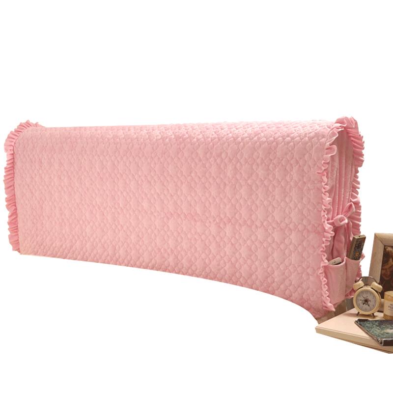 好夢連連布藝軟包床頭罩床頭套子防塵罩夾棉加厚皮床拆洗 1.8m床