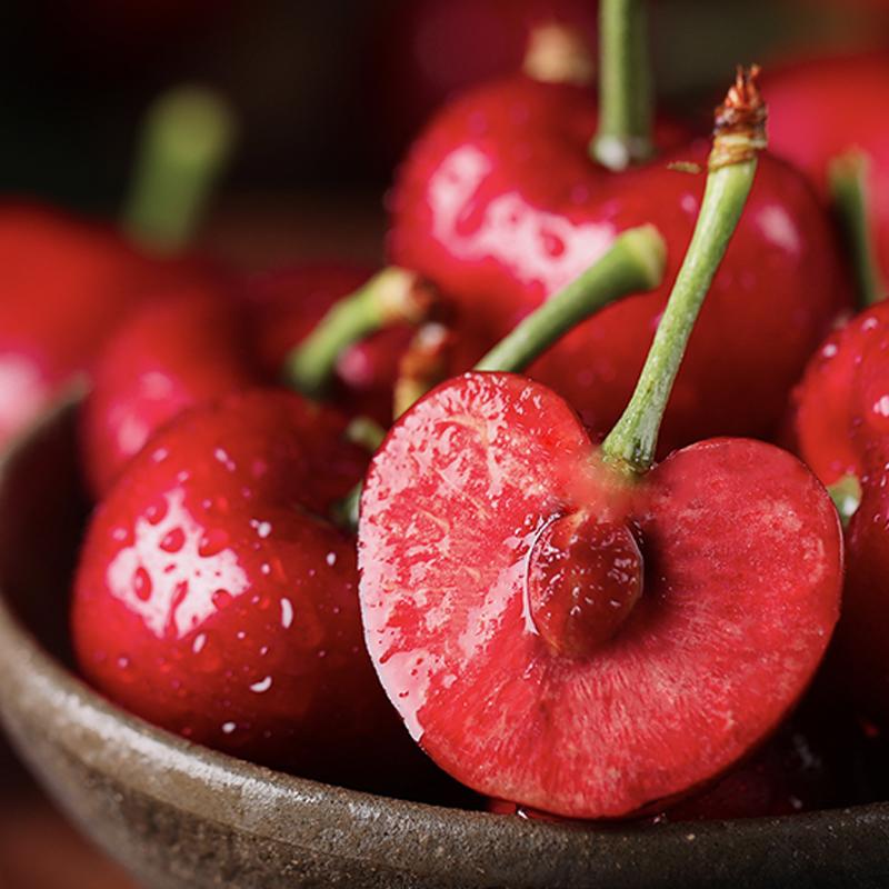 山东烟台大樱桃新鲜美早3斤果  樱桃新鲜现摘现发应季水果车厘子