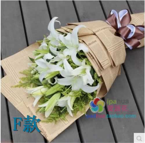 Mix and match lily to visit and bless fresh flowers in Wudi County, Binzhou County, Shandong Province, Zhanhua County, Boxing County, Shandong Province