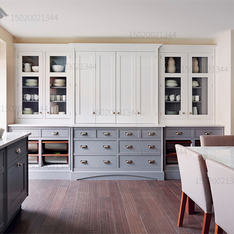 全屋定制爱格板激光封边整体厨房橱柜门板烤漆现代简约轻奢定做