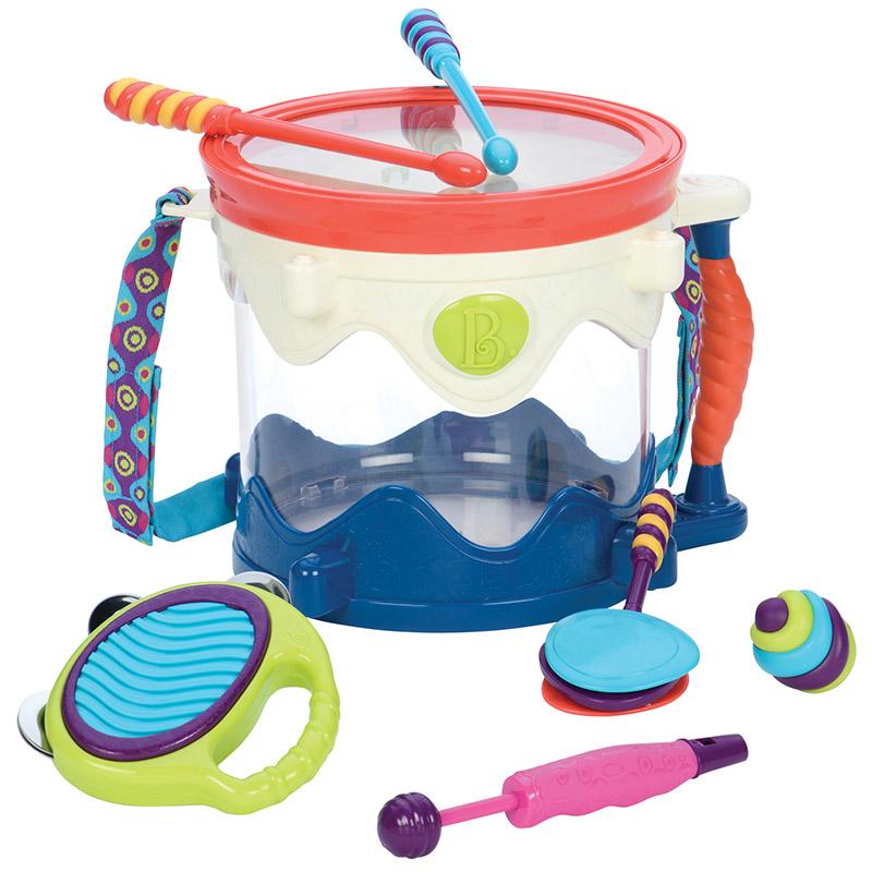 比乐B.Toys 五式乐器 5种乐器趣味十足 婴幼宝宝益智早教音乐玩具