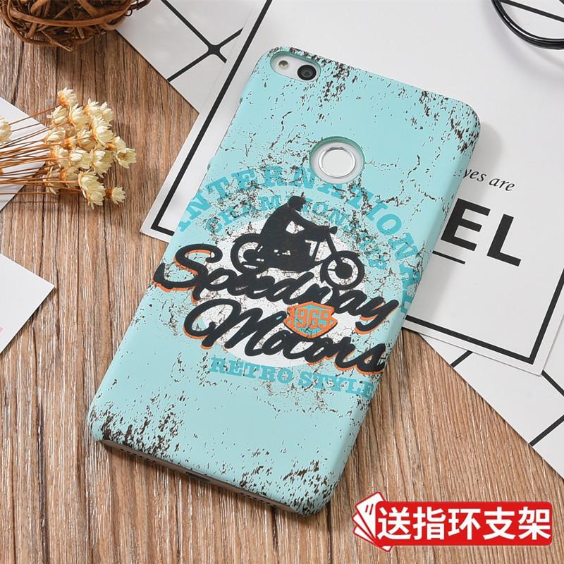 华为GR3 2017手机壳PRA-LA1保护套个性创意磨砂浮雕硬壳LX1LX2LX3
