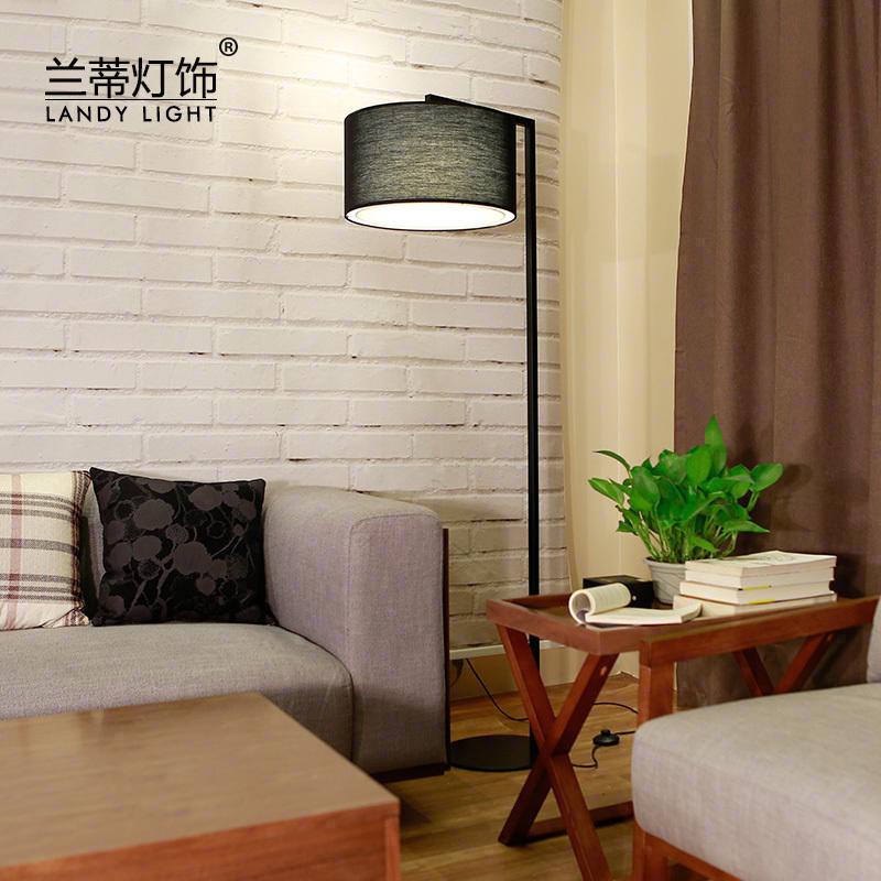 Нордический атмосфера торшер стоять свет творческий простой гостиная современный кофейный столик спальня прикроватный настольные лампы книга дом промысел лампа