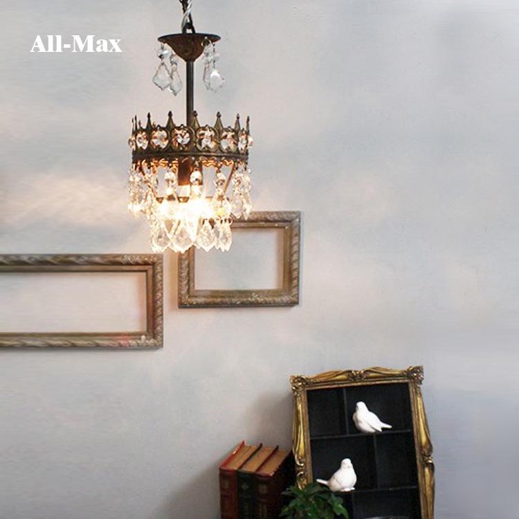 全美一丁美式复古餐厅衣帽间卧室灯