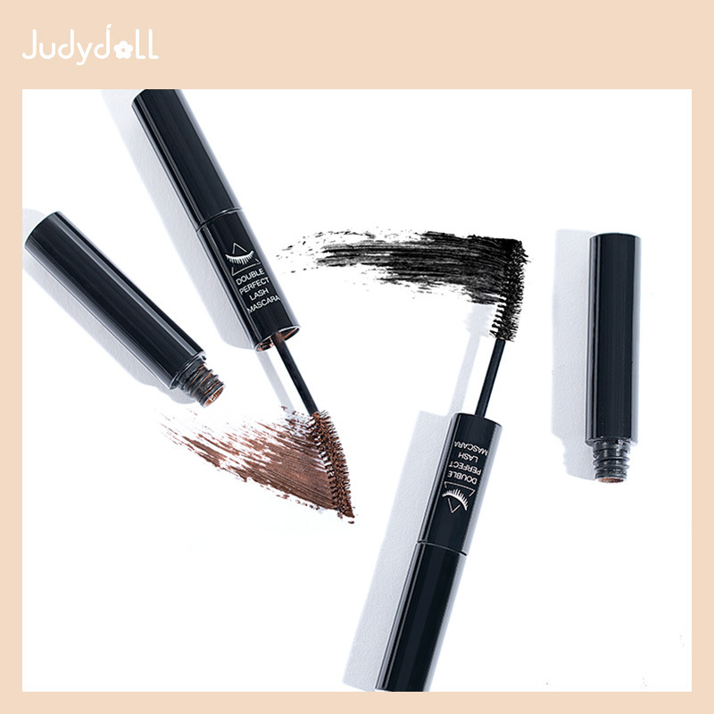 Judydoll citrus double head mascara is long, dazzling, curled, red and waterproof.