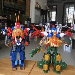 正版包邮 天地神兽金刚2天神地兽玩具合集 之五六合体无限含武器