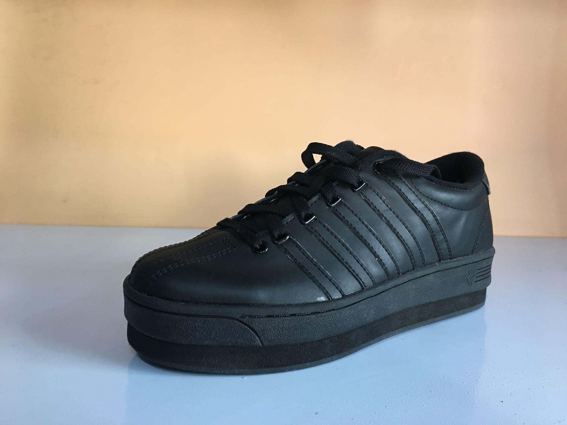 38松糕鞋增高鞋威时尚百搭耐磨休闲鞋牛皮运动板鞋s海外版盖