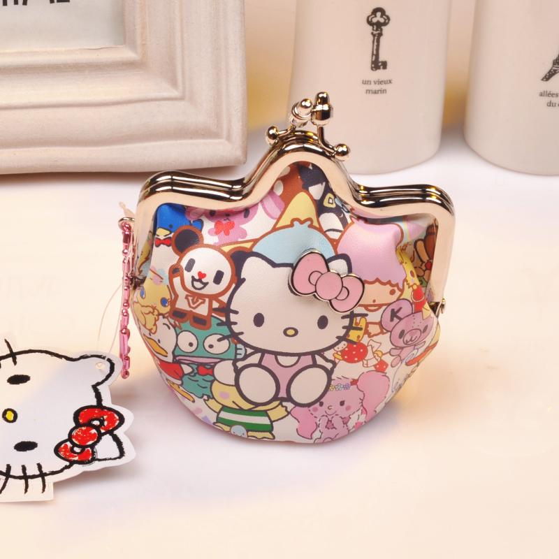韩版helloKitty零钱包复古可爱卡通硬币包女凯蒂猫明星款零钱小包