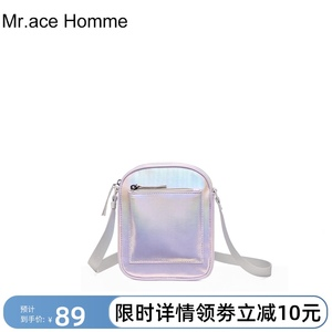 mracehomme新款女百搭ins斜挎包