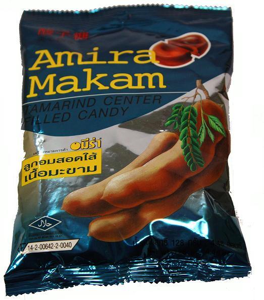 泰国进口 120g夹心酸子糖 甜酸角制作 喜糖  罗望子甜角肉8袋包邮
