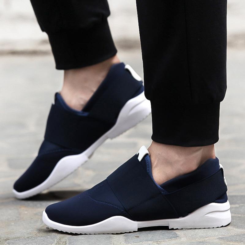 新款帆布鞋跑男鞋子同款运动男陈赫男李晨孚青少年潮流韩版学生夏