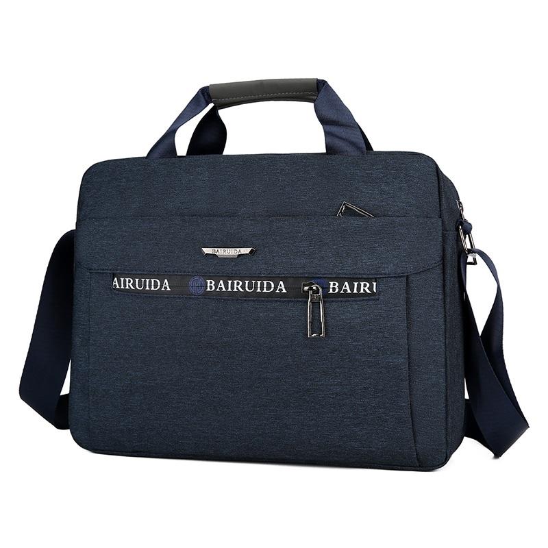 Mens single shoulder bag cross bag cross bag large capacity business leisure backpack mens bag Oxford cloth portable briefcase