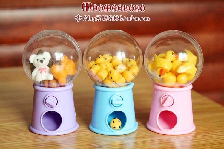 [cats nest] BJD / azone / Blythe / ob11 babys Mini Egg twisting machine candy machine
