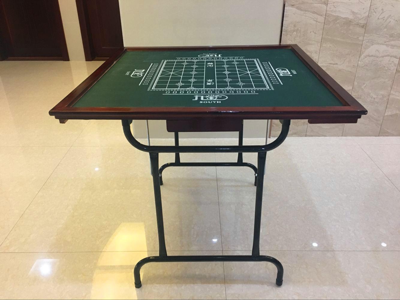 Десять тысяч послушный развлечения сложить маджонг стол дерево простой комната с несколькими кроватями домой рука твист шахматы карты стол шахматы две таблицы использование обеденный стол