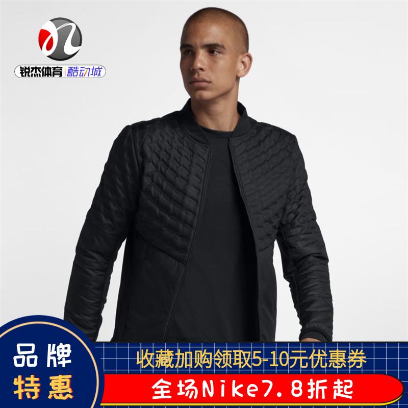 耐克Nike男子冬季运动休闲保暖轻薄机织羽绒服夹克外套928506-010图片