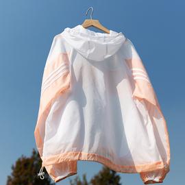 防晒衣户外运动风衣女皮肤衣防紫外线轻薄透气防晒服长袖跑步外套图片