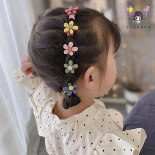 韩国儿童头绳不伤发女童扎头发橡皮筋发圈女孩发饰品宝宝头饰发绳图片