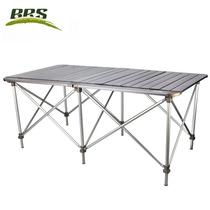 z32双面铝合金户外折叠桌椅便携多人野餐桌出游长条桌子兄弟BRS