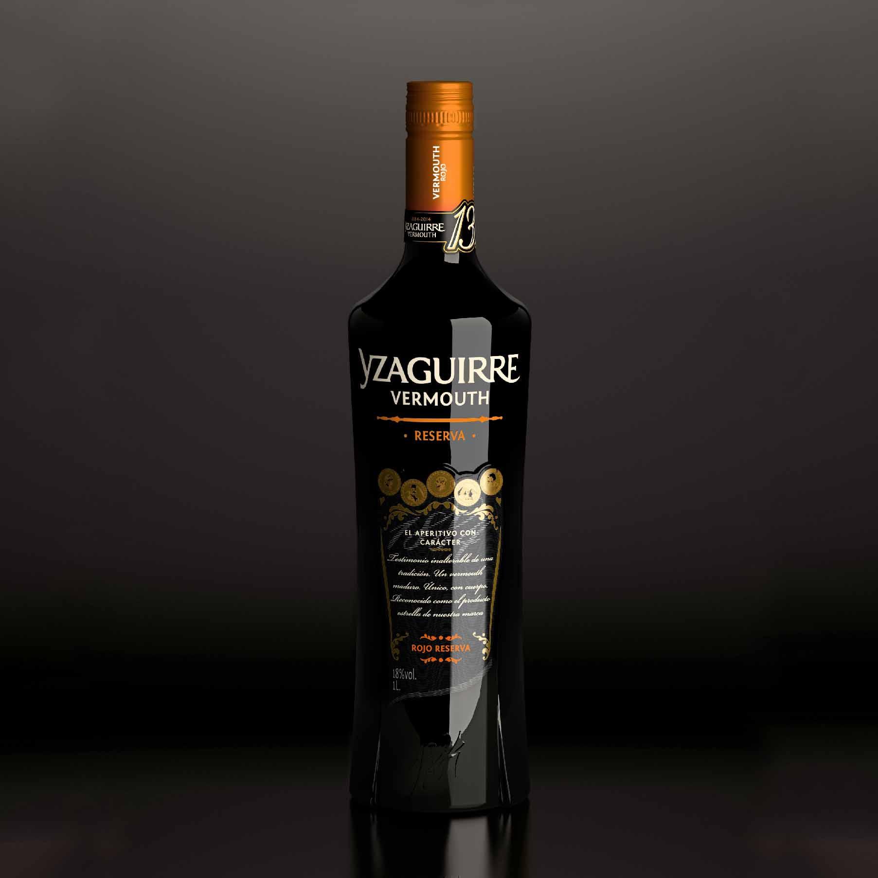 口感高级+香气持久+1L装西班牙雅茹酒庄Vermouth味美思甜酒助眠酒