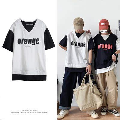 假两件宽松T恤 KK261 P45