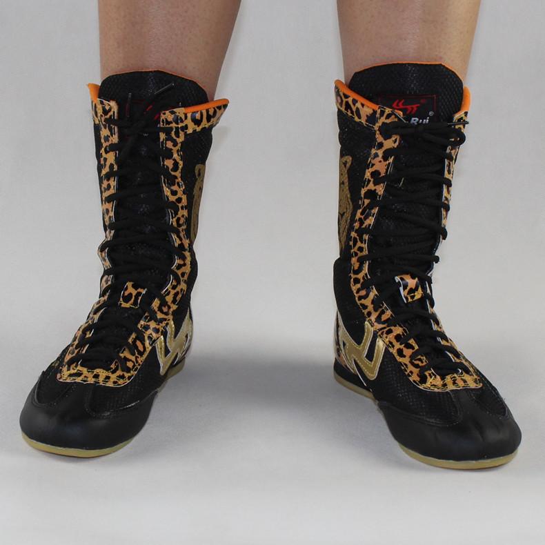 Престиж швейцарский бокс обувной мужской и женщины леопард бокс обувной оксфорд конец бокс обучение бросать упорная борьба обувной