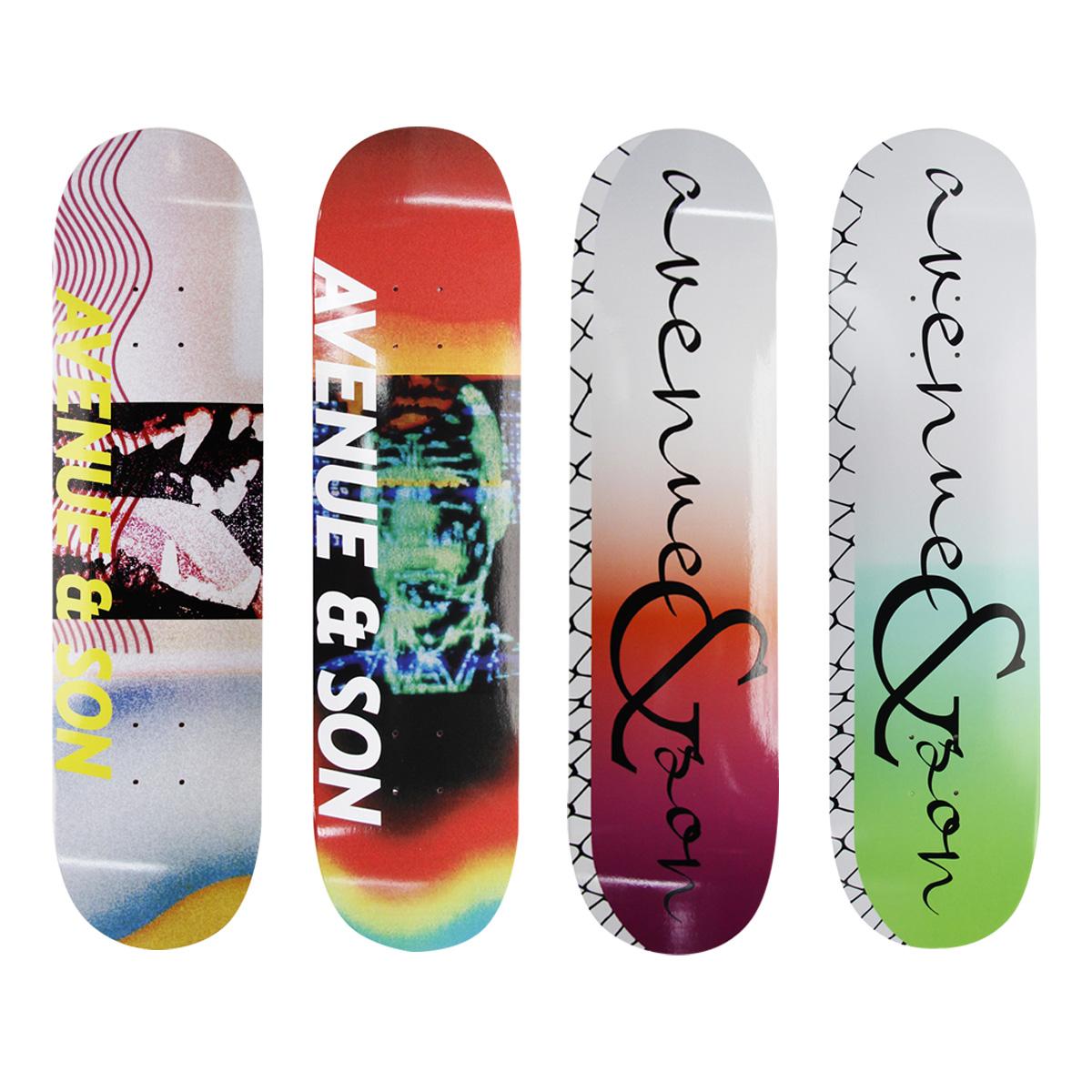 Avenue&son大道之子滑板板面 专业加拿大枫木电渡配色 1985滑板
