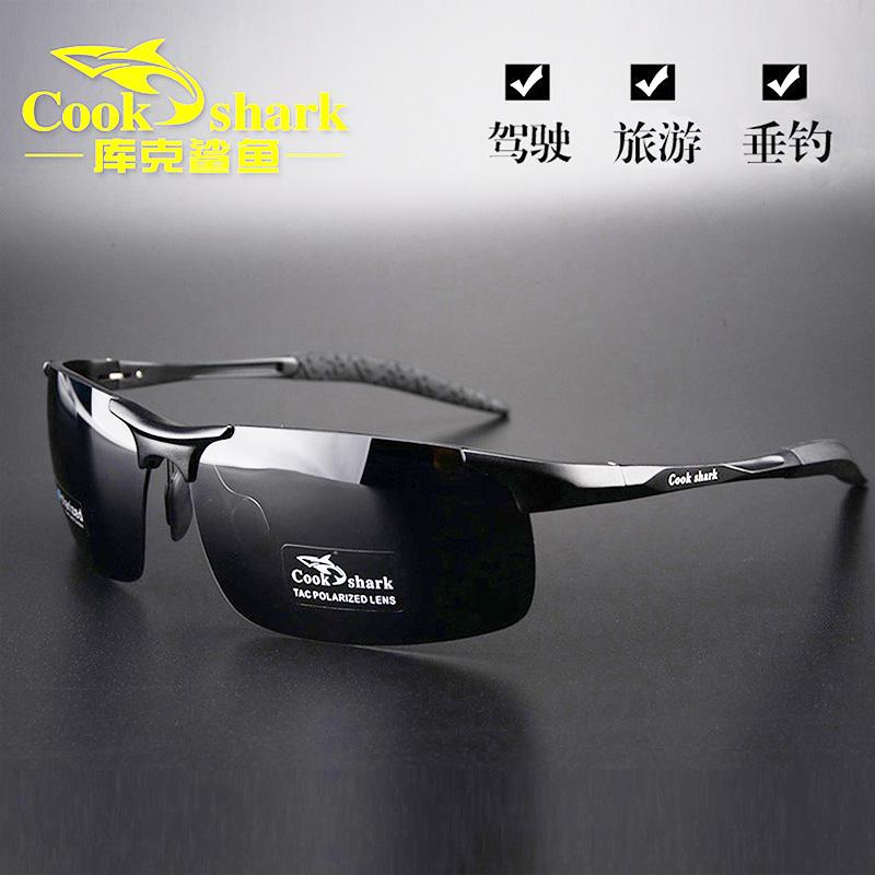 Cook shark Sunglasses mens Sunglasses driving driver polarized trendsetter night vision glasses