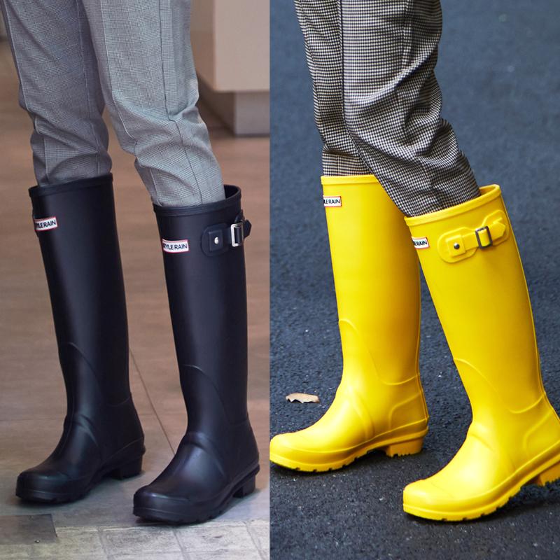 亏本清仓春夏新款正品水晶女士马丁雨靴水鞋时尚套鞋雨鞋女